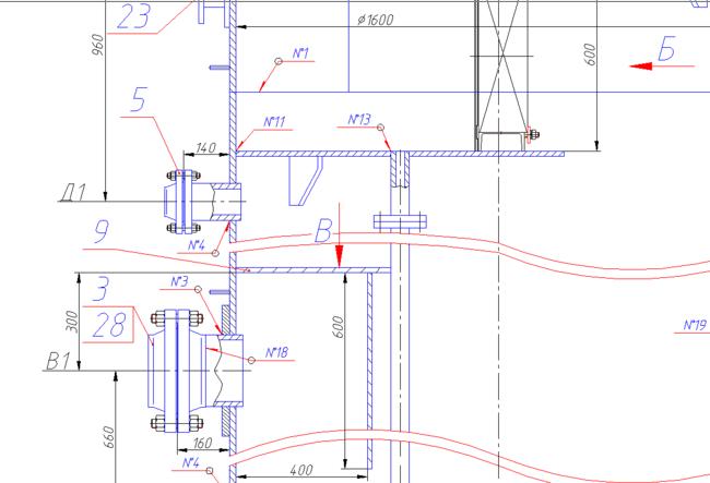 Инструменты оформления чертежей в соответствии с ЕСКД
