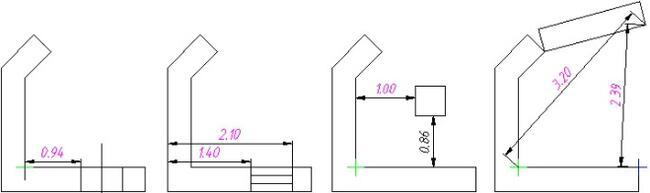 Варианты позиционирования объектов